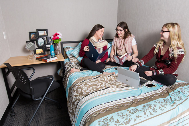 Bedroom open concept 2