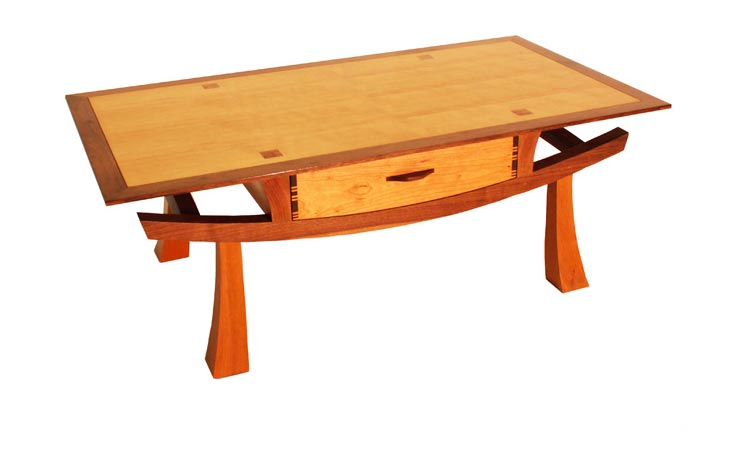 An Asian inspired coffee table