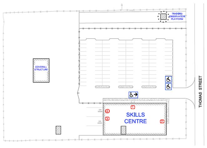 Ingersoll site plan