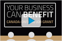 Discover the Canada-Ontario Job Grant