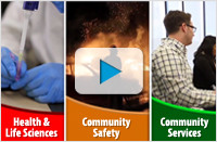 School of Health and Life Sciences and Community Services at Conestoga College program video