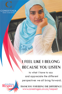 Respect Campaign Poster - Diversity of Perspectives