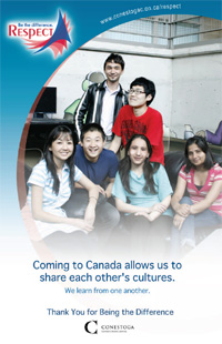 Respect Campaign - New Canadian and International Students