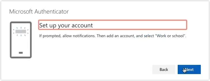 screenshot authenticator app step d