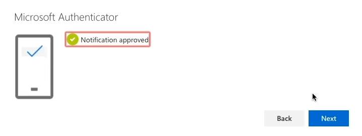 screenshot authenticator app step h