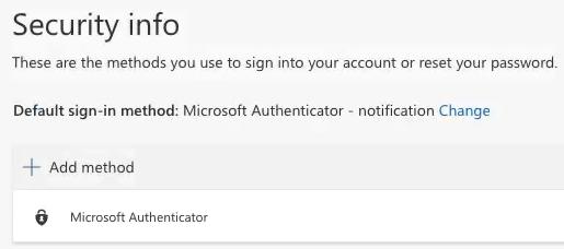 screenshot authenticator app step i