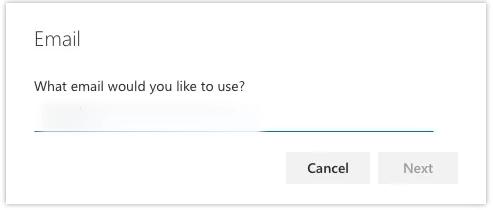 screenshot email step b