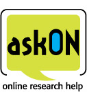 Ask On online research help logo