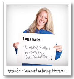 Attend our Connect Leadership Workshop