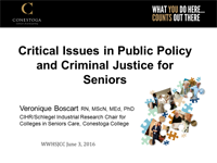 Geriatrics and Justice cover