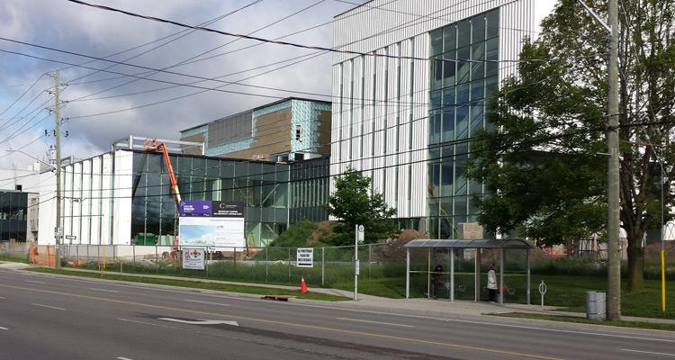 Conestoga College Waterloo Campus Expansion Construction June 5, 2018 (1)