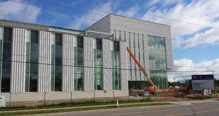 Conestoga College Waterloo Campus Expansion Construction June 5, 2018 (2)