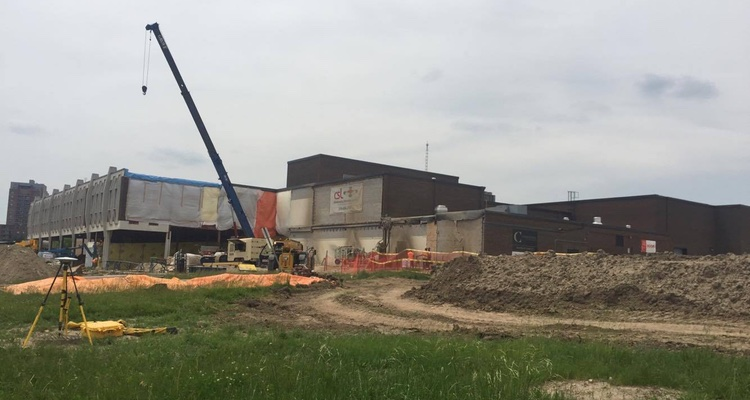 Conestoga College Waterloo Campus Expansion Construction june 12, 2017